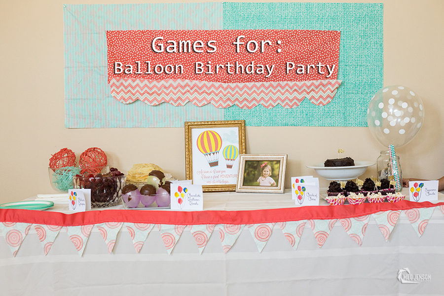 Games for a balloon birthday party meg jenson for Balloon party games