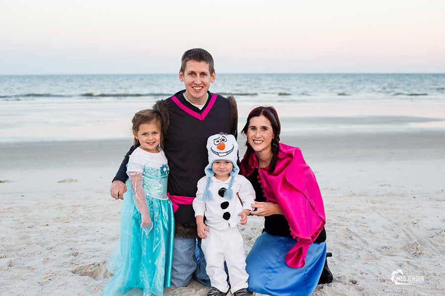 Frozen Halloween Costume