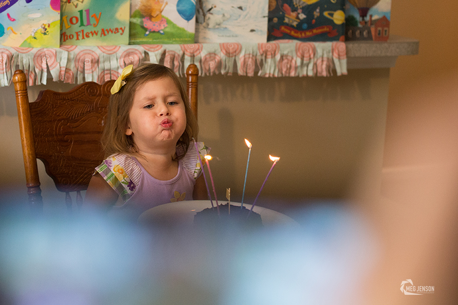Blow of Candles