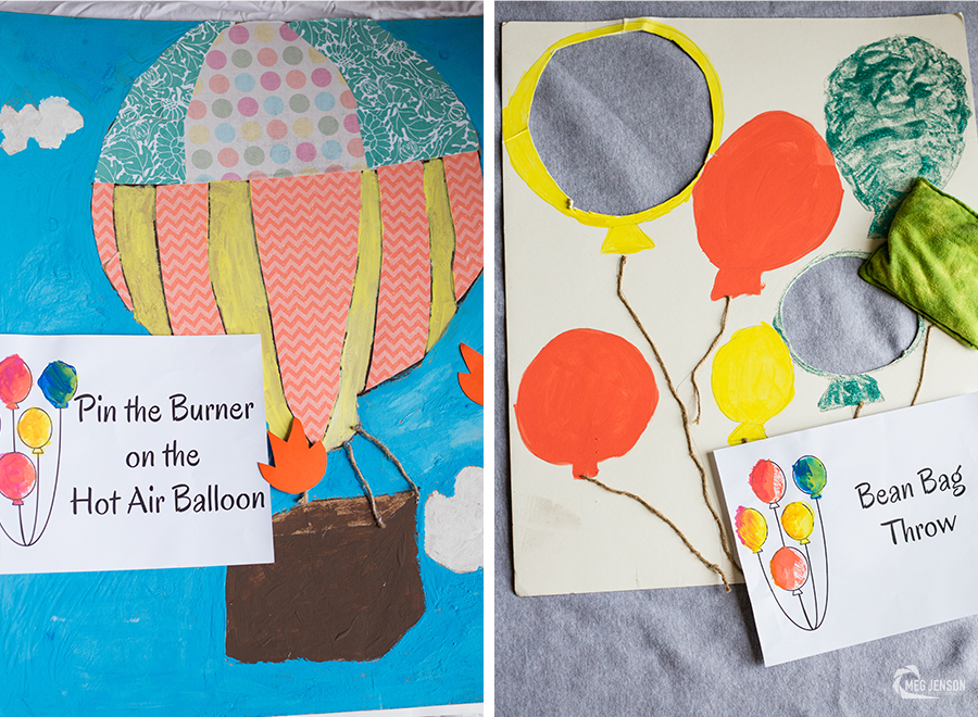 Pin the Burner on the Hot Air Balloon