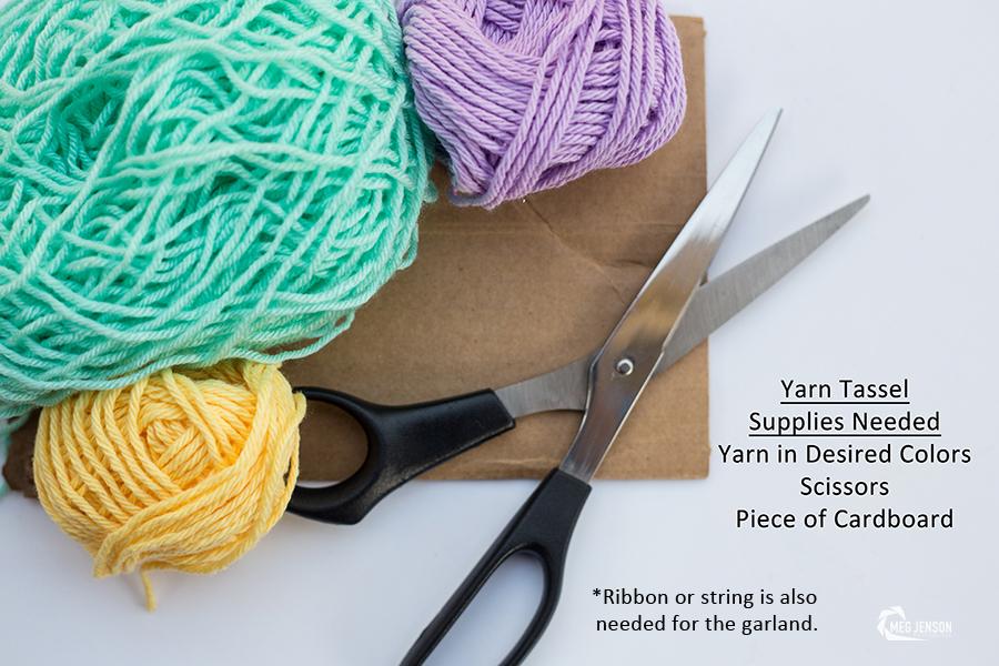Yarn Tassel Supplies