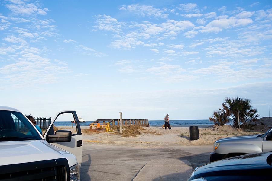 Jacksonville Beach Sand Dunes