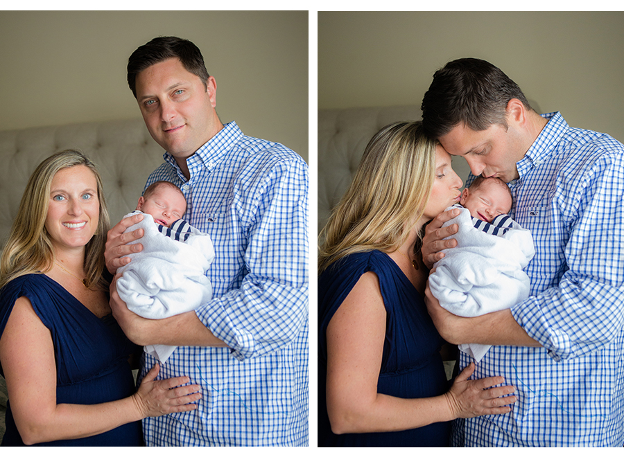 Jacksonville LIfestyle In-Home Newborn Photography