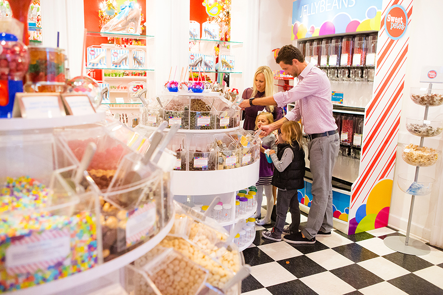 Candy Store Family Photos