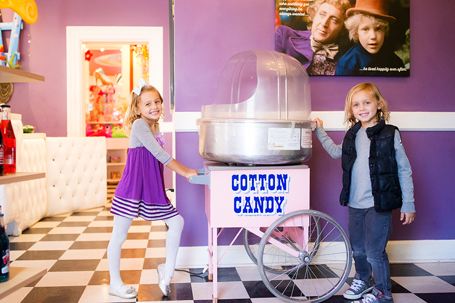 Willy WOnka Candy STore