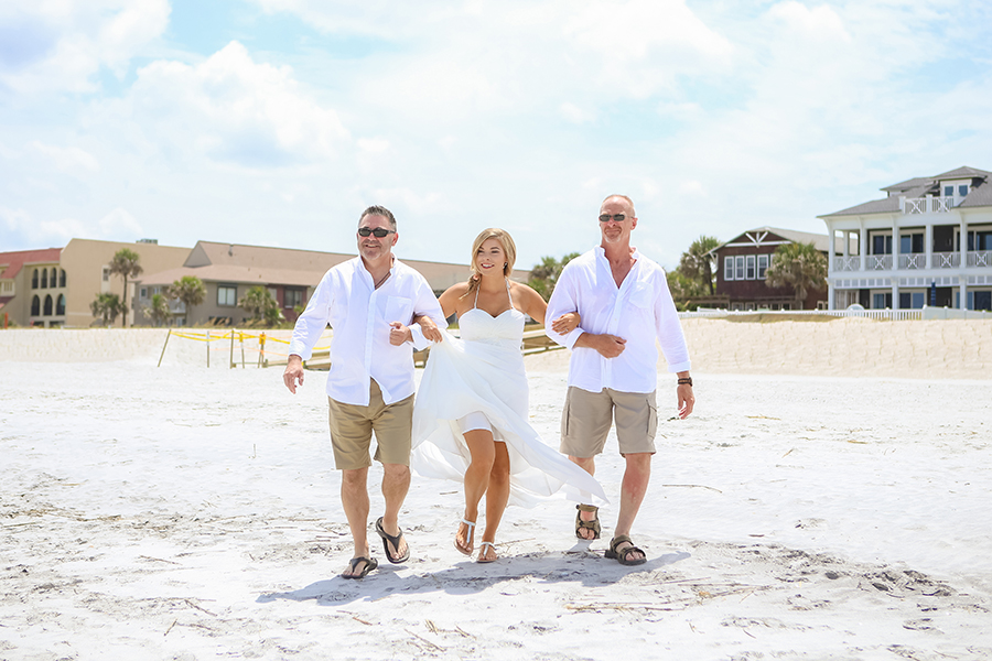 beach wedding atlantic beach