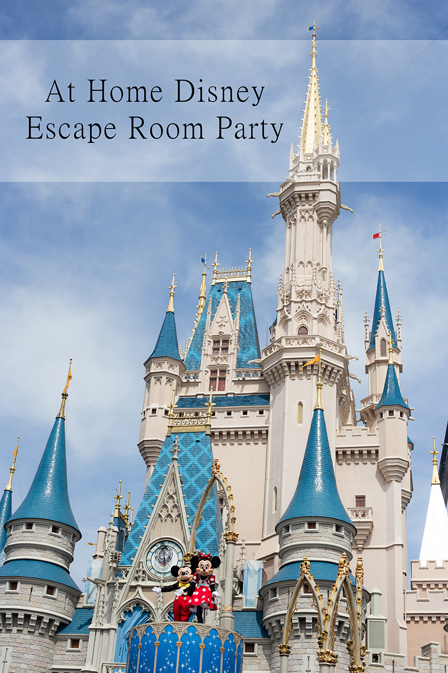 Disney Escape Room Party