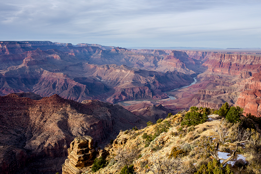 Hike Grand Canyon December with kids