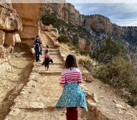Hike Grand Canyon with Kids