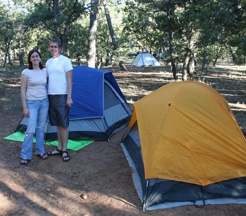 Camping Summer Grand Canyon