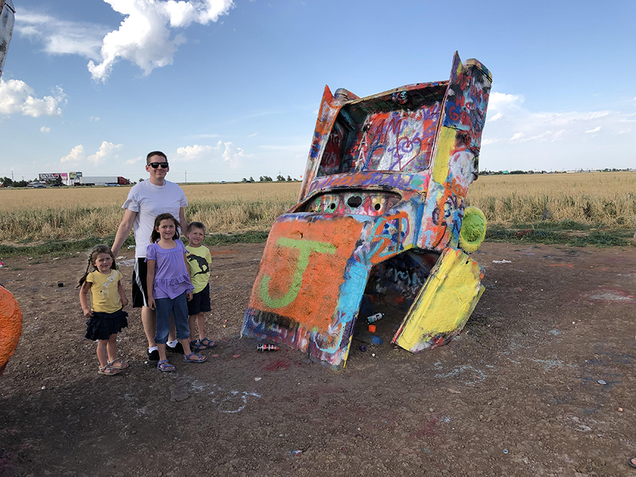 Cadillac Ranch Armarillo Texas
