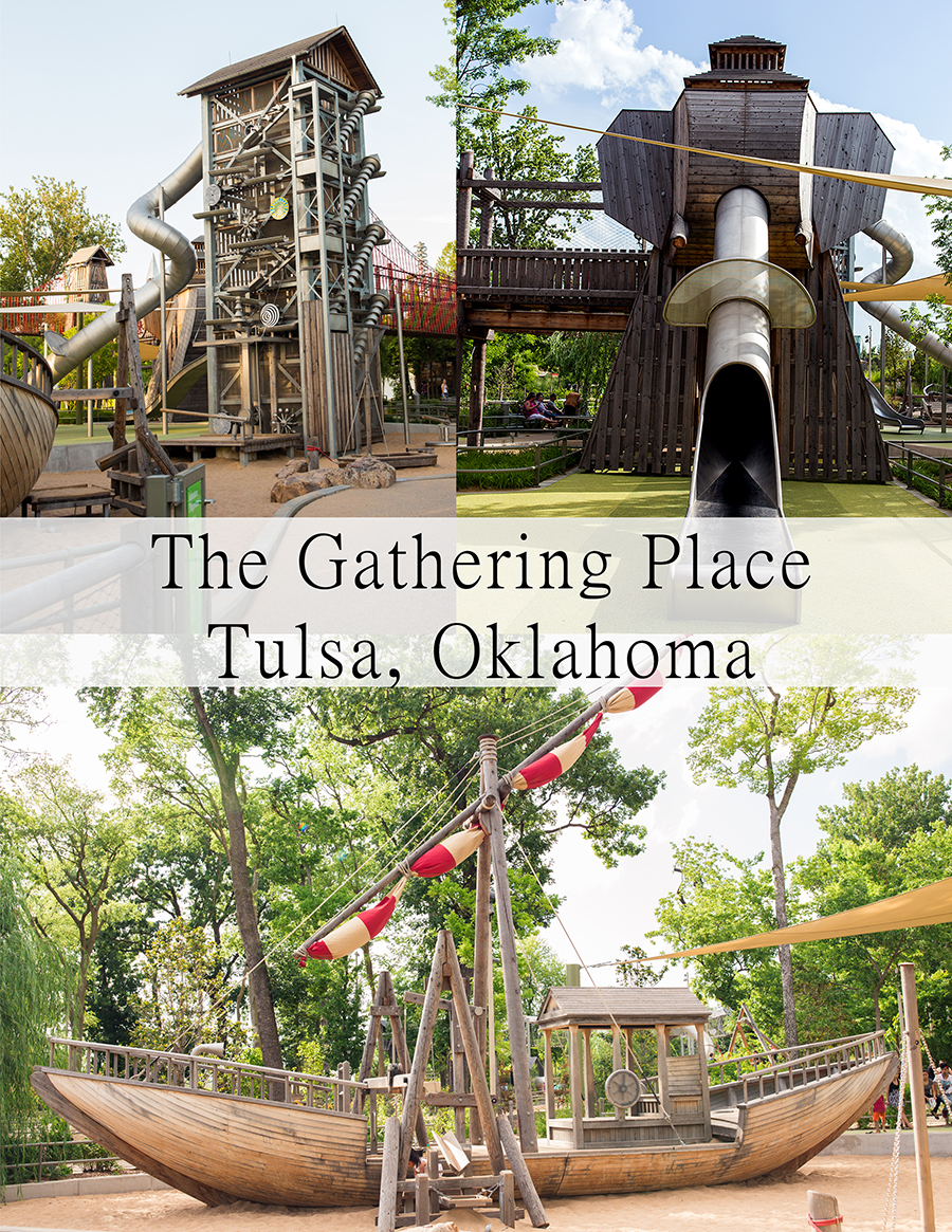 Dream Playground The Gathering Place Tulsa Oklahoma