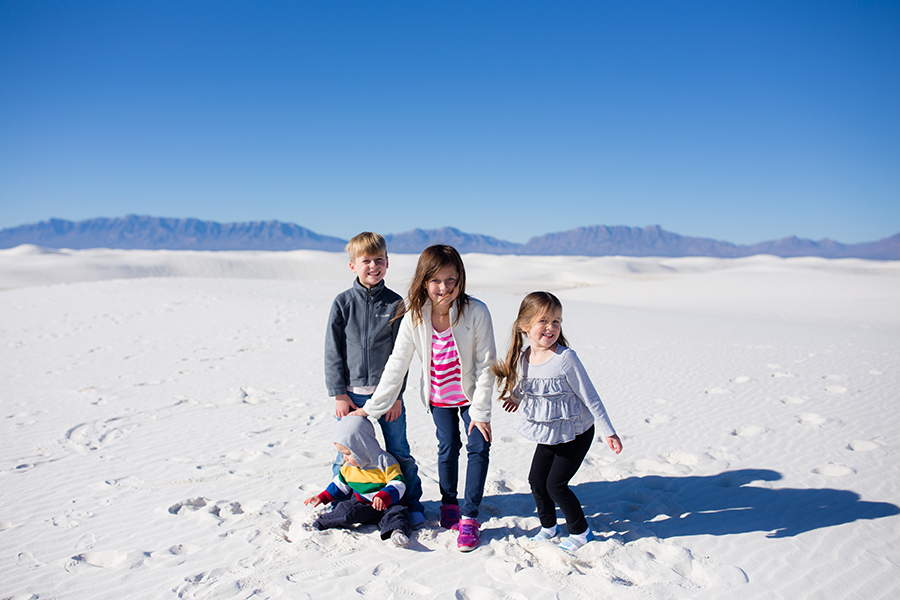 What Sands National Park with Kids